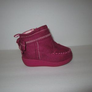 Faded Glory Toddler Girls Faux Suede Boots